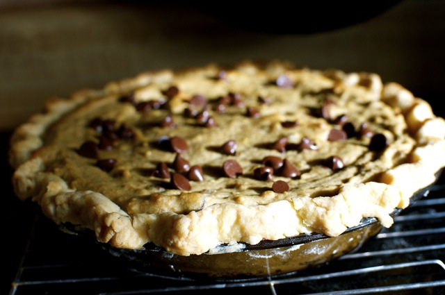 Chocolate Chip Cookie Dough Pie | Libby's Piece of Mind