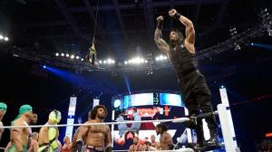 Roman Reigns puts himself in the Battle Royal wwe.com