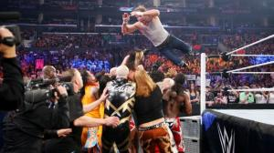 Photo by WWE Dean takes everyone out