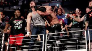 photo by WWE Seth and Dean take their fight to the audience
